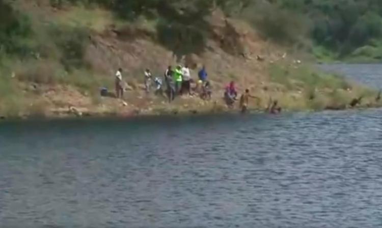 Buscas pelo desaparecido continuam nesta segunda - Foto: Reprodução | TV Bahia