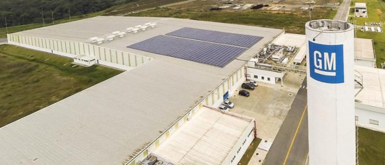 Fábrica da GM em Joinville (SC) - Foto: Divulgação