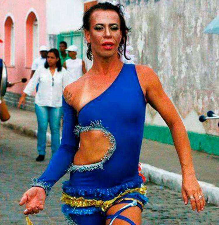 Lili era presidenta da Associação Grupo Gay de Cachoeira - Foto: Arquivo Pessoal