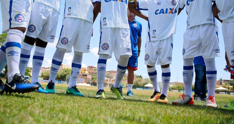 """Vitor Ferraz, dir. jurídico do Bahia: """"O Bahia não paga alojamento para atletas. Não temos responsabilidade por essa casa"""" - Foto: Felipe Oliveira l EC Bahia"""