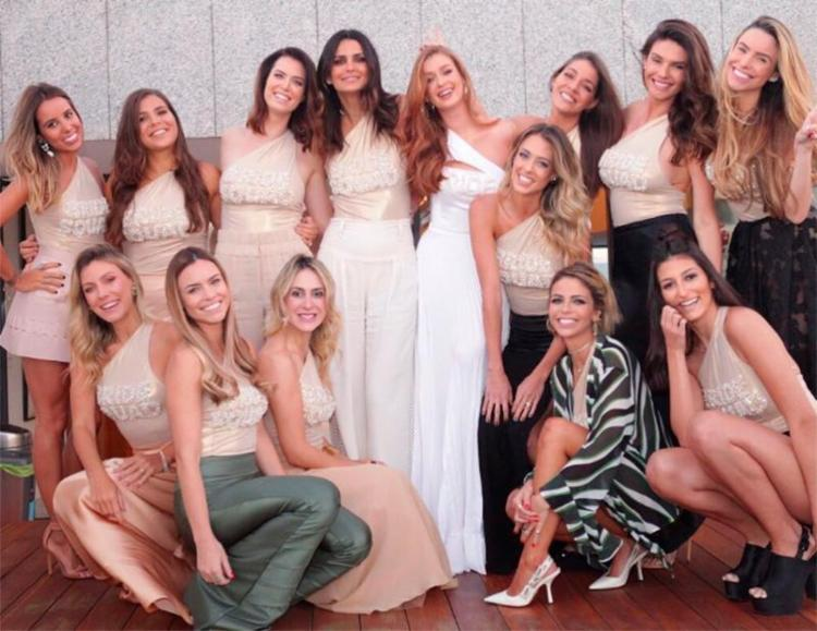 A organização ficou por conta de uma das amigas e madrinhas da atriz - Foto: Reprodução | Instagram
