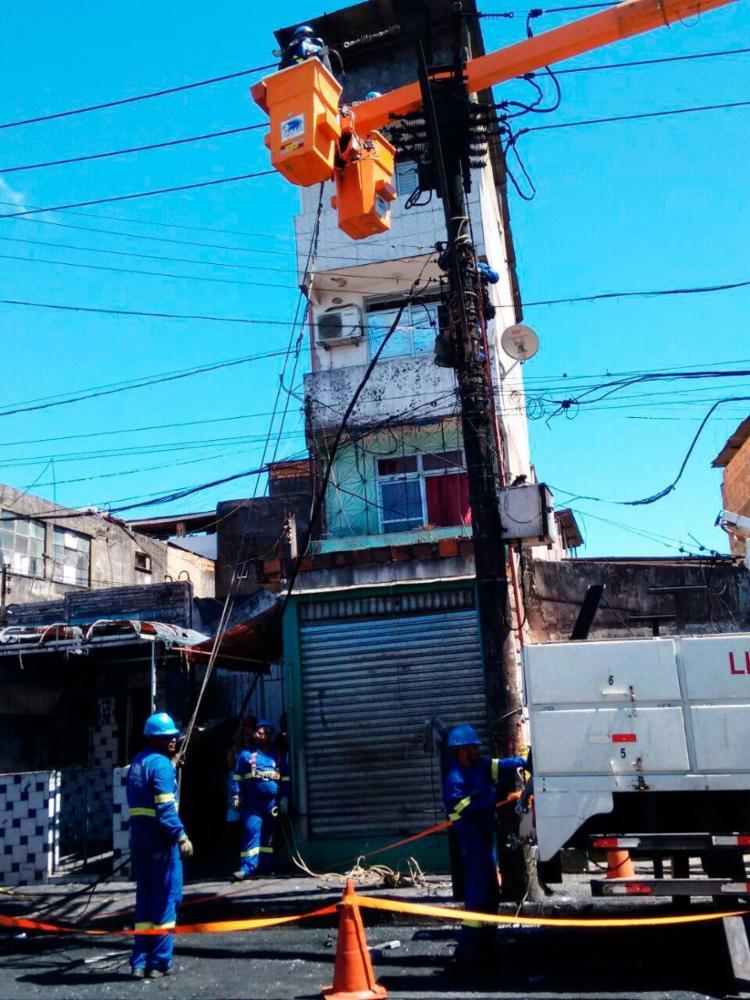 O sistema foi normalizado no final da manhã desta terça após reparos na rede - Foto: Euzenir Daltro   Ag. A TARDE