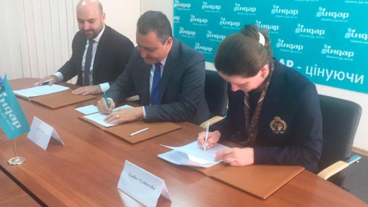 Documento foi assinado nesta terça-feira, na Ucrânia - Foto: Carlos Prates | GOVBA