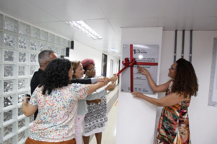 Evento de instalação da nova sede da secretaria ocorreu na tarde desta terça-feira, 19 - Foto: Raul Spinassé l Ag. A TARDE