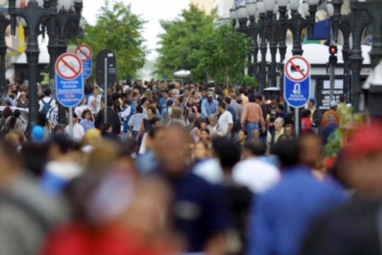 A taxa de crescimento populacional é de 0,77% entre 2016 e 2017 - Foto: Arquivo ANPr | Fotos Públicas
