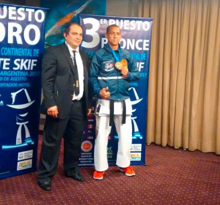 Jubiraci Silva é professor da modalidade em São Gonçalo dos Campos - Foto: Divulgação | SSP-BA
