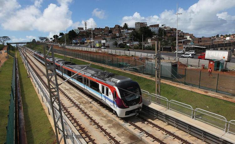 Metrô vai ganhar quatro novas estações nesta segunda - Foto: Alberto Coutinho l Gov-BA
