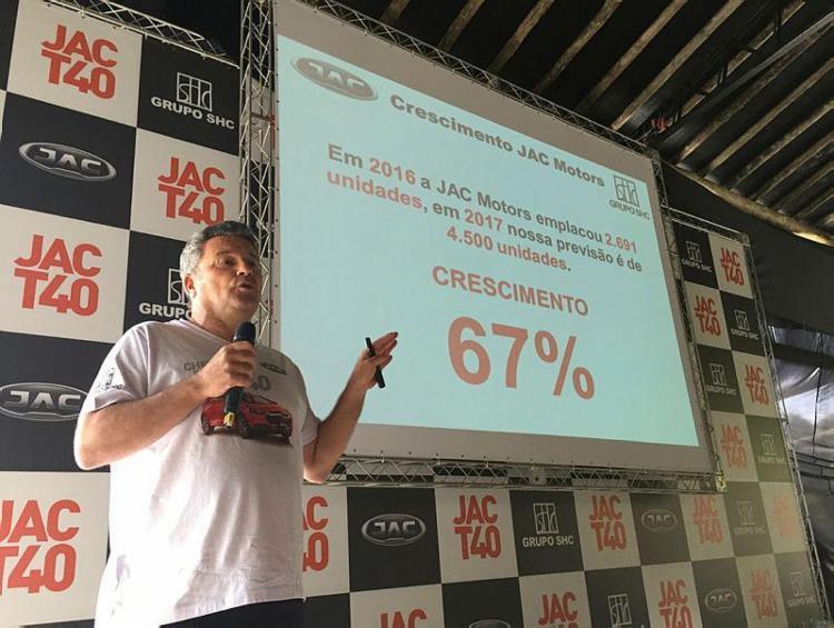 Projeto da montadora chinesa foi apresentado durante evento no interior paulista - Foto: Divulgação