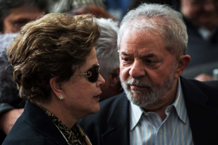 Uma lada do PT acredita que Dilma seria uma ameaça para a volta de Lula ao Planalto - Foto: Nelson Almeida | AFP | 21.07. 2017