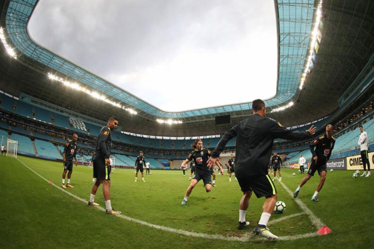 Seleção enfrenta os equatorianos nesta quinta, 31, às 21h45, na Arena Grêmio, em Porto Alegre - Foto: Lucas Figueiredo | Divulgação | CBF