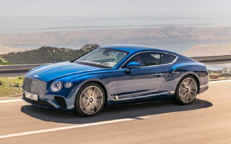 Bentley apresenta versão 2019 no salão de Frankfurt - Foto: Divulgação