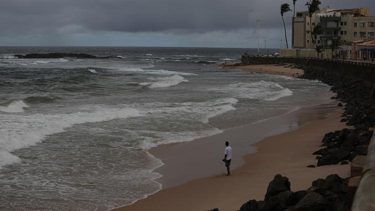 A previsão é de vento forte com rajadas entre 51 a 62 km/h - Foto: Joá Souza l Ag. A TARDE