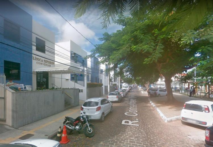 Interdição na rua Comendador Gomes Costa começará nesta sexta-feira, 4, - Foto: Reprodução   Google Maps