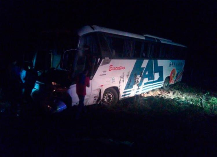 Acidente aconteceu por volta das 2h10 da madrugada - Foto: Reprodução | Blog Calila Notícias