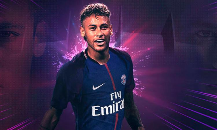 A transação de Neymar se tornou a maior da história do futebol - Foto: Divulgação l Paris Saint-Germain