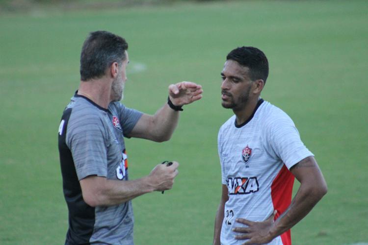 Mancini comandou atividade na Toca do Leão - Foto: Divulgação | E.C. Vitória