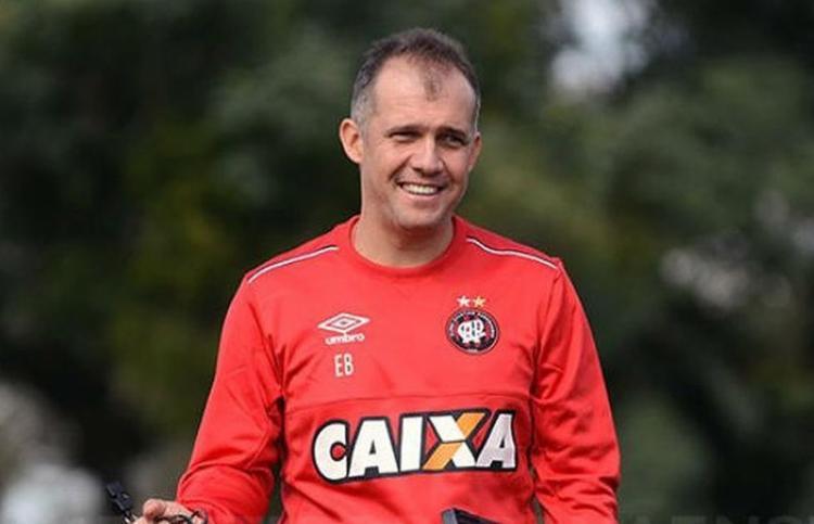 Ex-comandante do Atlético-PR disse que não recebeu proposta - Foto: Marco Oliveira l Atlético-PR