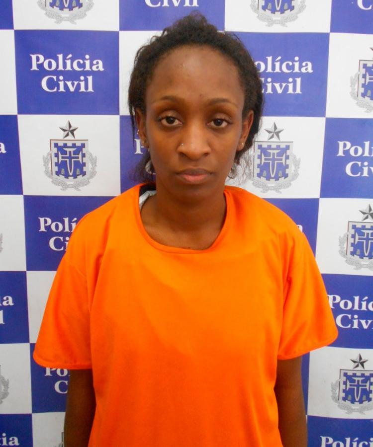 Naiara estava na casa de parentes, em Cajazeiras, onde foi presa - Foto: Divulgação | SSP- BA