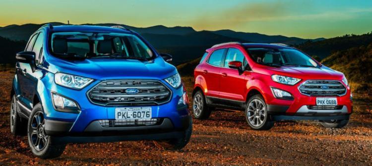 Ford Ecosport quer liderança de volta - Foto: Ford | Divulgação