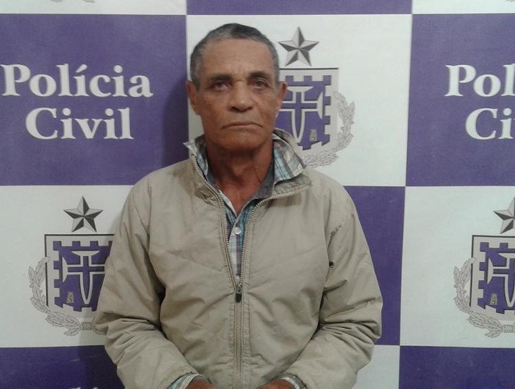 Antônio Teodoro da Silva foi flagrado seminu por familiares da vítima - Foto: Divulgação l Polícia Civil