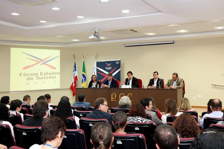 Empresários e profissionais do trade turístico discutiram projetos apresentados pelo secretário José Alves - Foto: Tatiana Azeviche l Setur l Divulgação