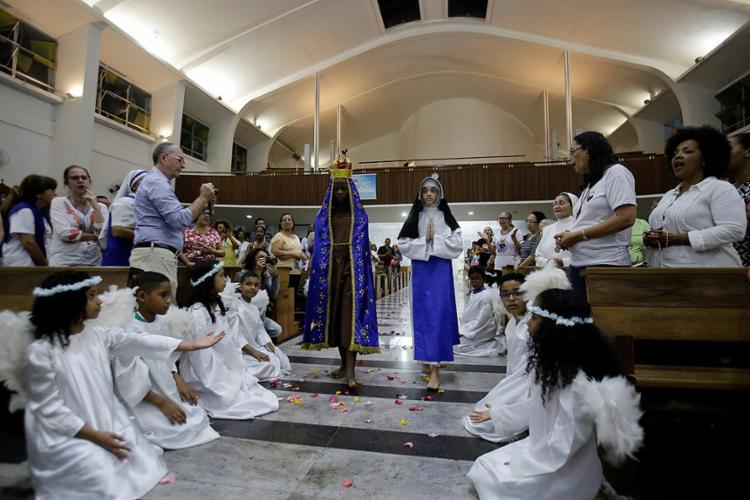 Homenagem à freira baiana segue até o dia 13 de agosto - Foto: Adilton Venegeroles l Ag. A TARDE