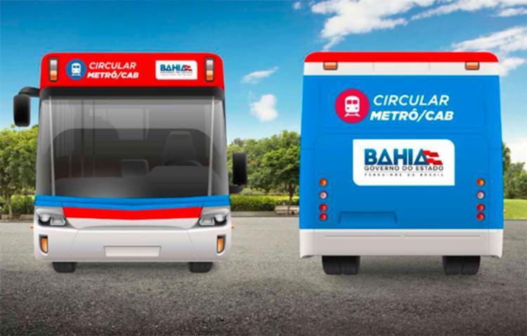 Novos ônibus vão fazer o percurso entre o CAB e as estações do metrô do CAB e Pituaçu - Foto: Divulgação