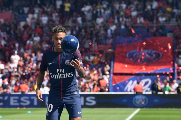 Neymar recentemente trocou o Barcelona pelo Paris Saint-Germain - Foto: Thomas Samson | AFP