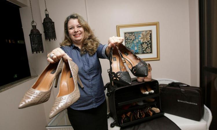 Após ficar desempregada, Juliana optou pela franquia Quinta Valentina - Foto: Mila Cordeiro | Ag. A TARDE