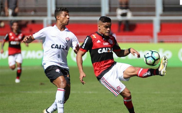 Vitória derrubou o Flamengo na Ilha do Urubu - Foto: Divulgação | Flamengo
