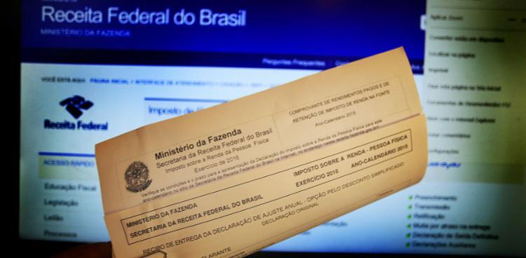 Através do site da Receita, o contribuinte faz consulta sobre a liberação da declaração - Foto: Fernanda Carvalho | Fotos Públicas | 21.04.2016