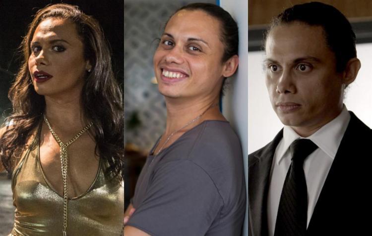 Na trama, o ator interpreta a transformista Elis Miranda - Foto: Reprodução | TV Globo