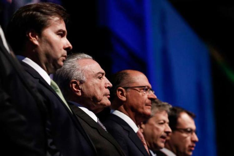 Temer falou também sobre a possibilidade de adoção do parlamentarismo como sistema de governo em 2018 - Foto: Agência Brasil