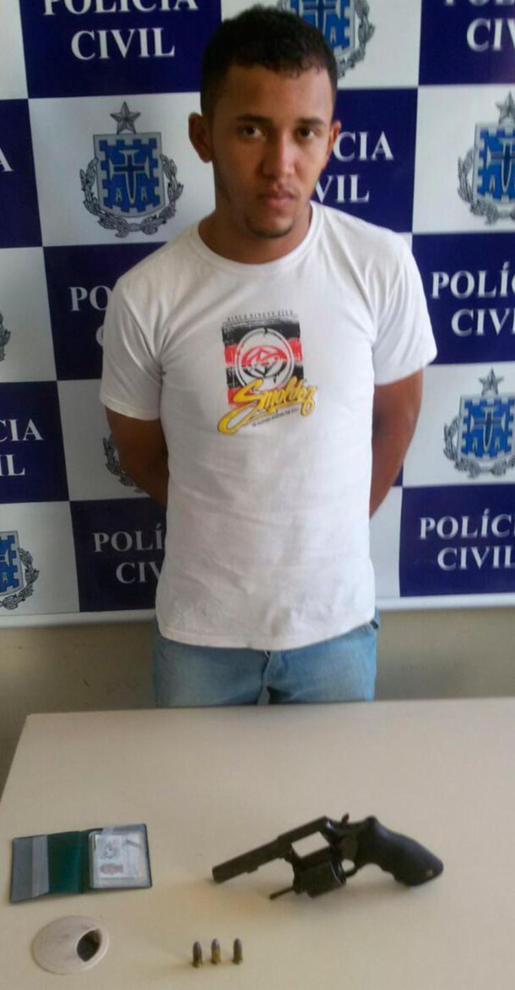 Segundo a polícia, Arido Santos Souza agia por orientação de uma facção criminosa - Foto: Divulgação | SSP-BA