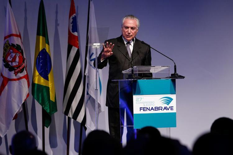 Declaração de Temer sobre aumento da alíquota para rendas acima de R$ 20 mil causou reação da base aliada - Foto: Alan Santos l PR
