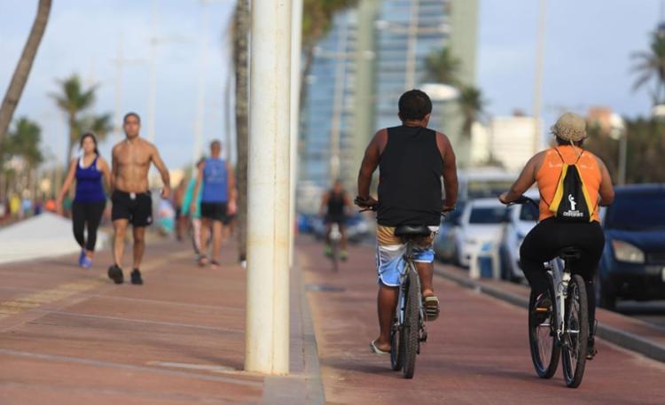 Prática regular de exercícios físicos também controla os índices do LDL - Foto: Joá Souza | Ag. A TARDE | 21.07.2016