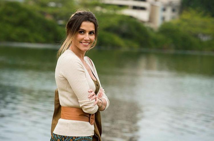 Atriz revelou que só não traiu o o atual marido, Hugo Moura - Foto: Divulgação | TV Globo