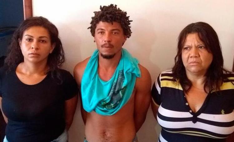 Indira Luanda, Ana Paula Santos e Gilvan de Jesus tiveram a prisão divulgada hoje - Foto: Divulgação | Polícia Civil