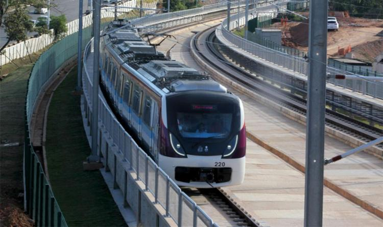 Sistema metroviário vai contar com 20 estações e 8 terminais de integração com ônibus - Foto: Alberto Coutinho | Divulgação | GOVBA