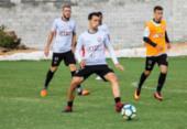 Mancini testa Bruno Bispo, Soutto e Patric na ala esquerda | Foto: