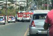 Idosa morre em acidente no bairro de Stella Maris; uma criança e um homem ficam feridos | Foto: