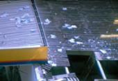 Bandidos explodem cofre de posto de combustível   Foto: