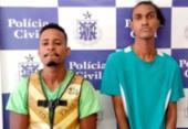 Dois homens são presos por assaltar lojas e pessoas na Pituba | Foto: