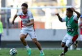 Preto Casagrande faz treino tático na Arena Fonte Nova | Foto: