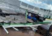 Lancha envolvida na tragédia de Mar Grande é desmontada | Foto: