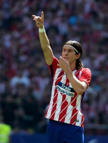 O jogador ficou contundido na partida entre Atlético de Madrid e Chelsea - Foto: Curto de la Torre   AFP