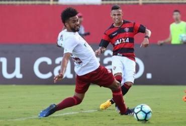 Vitória arranca empate contra Fluminense no Barradão