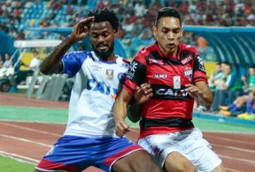 Bahia empata com o Atlético-GO fora e ganha uma posição na tabela