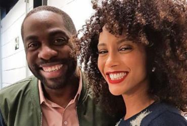 Taís Araújo e Lázaro Ramos completam 13 anos de casados e se declaram na rede social