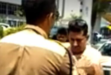 Motorista do Uber é preso após dirigir embriagado na Av. ACM